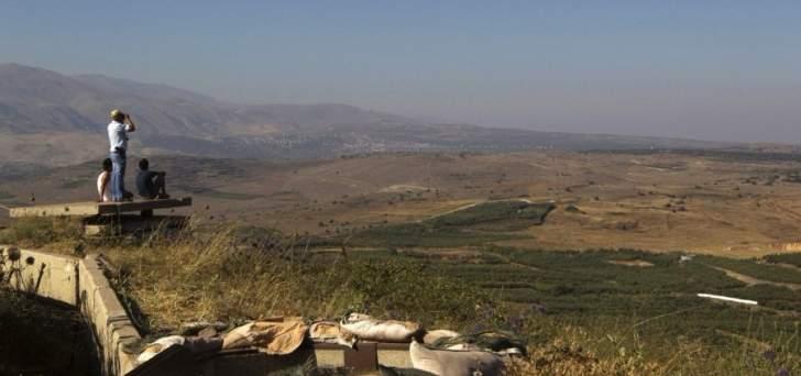 القوات الإسرائيلية تطلق صاروخ باترويت اعتراضي فوق الجولان