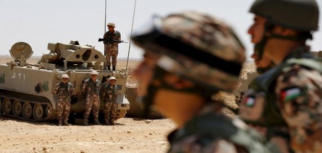 الجيش الاردني:اشتباكات مع عناصر من داعش بمنطقة حوض اليرموك