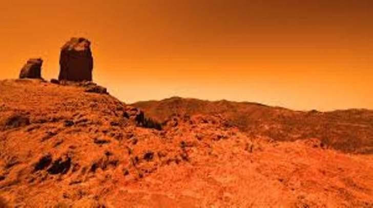 المريخ في اقرب مسافة من الارض منذ العام 2003