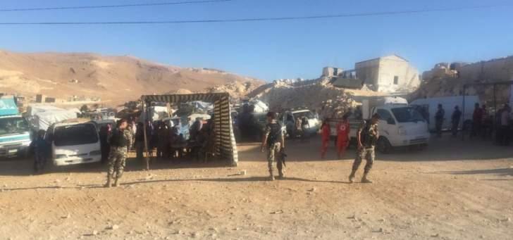 الدفاع الروسية: عودة أكثر من 200 لاجئ من لبنان إلى سوريا