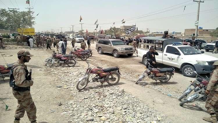 مقتل 24 شخصا بتفجير في باكستان
