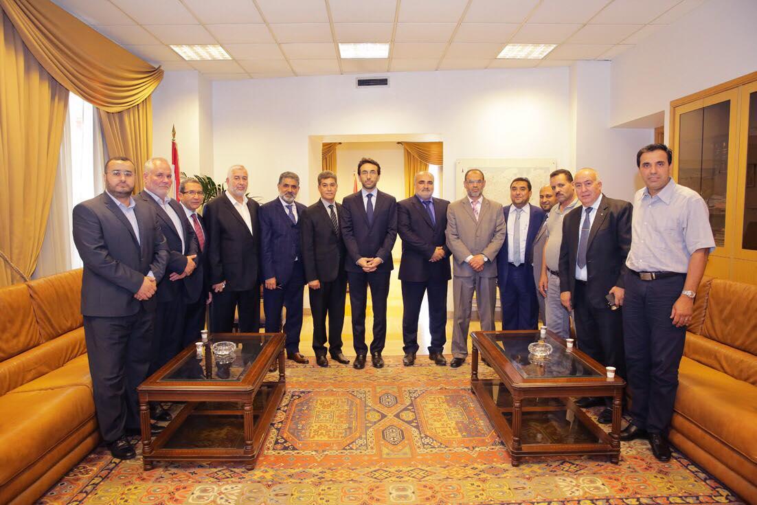 شبيب التقى الهيئة الدوليه للدفاع عن حقوق  المهنيين والنقابيين الفلسطينيين
