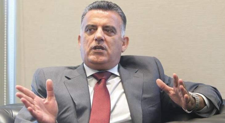 اللواء إبراهيم التقى سفير سوريا وبحث معه أوضاع النازحين السوريين