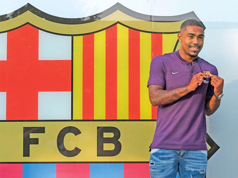 مالكوم: انتقالي الى برشلونة هو حلم قد تحقق