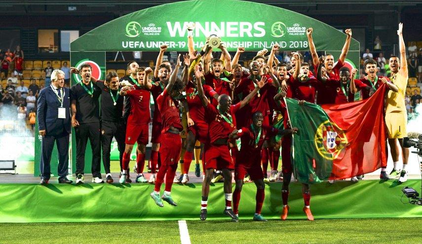 البرتغال يفوز على ايطاليا في كأس أوروبا تحت 19
