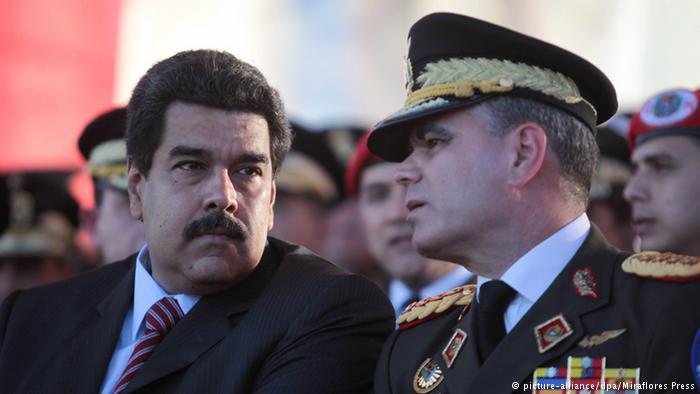 وزير دفاع فنزويلا: أؤكدّ حدوث انقلاب ضدّ الرئيس الشرعي مادورو