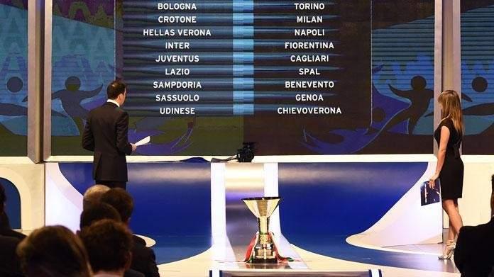 إعلان عن جدول مباريات الدوري الايطالي