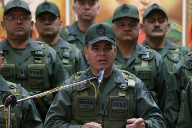 وزير الدفاع الفنزويلي: القوات المسلحة لا تعترف بزعيم المعارضة رئيساً للبلاد