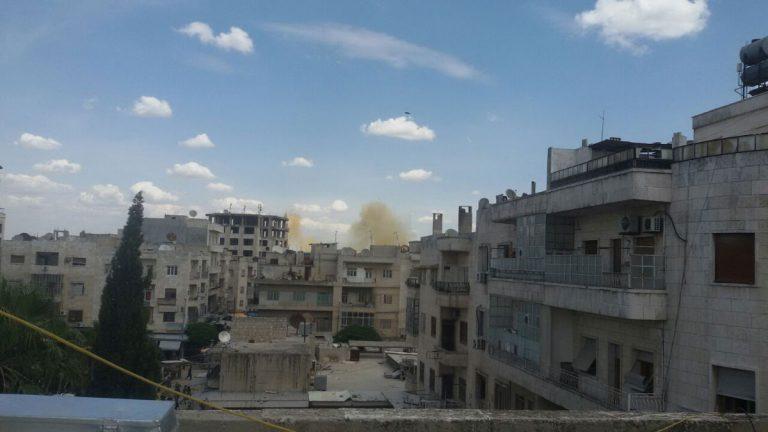 مقتل 11 شخصاً جرّاء قصف على مدينة معرّة النعمان في محافظة إدلب
