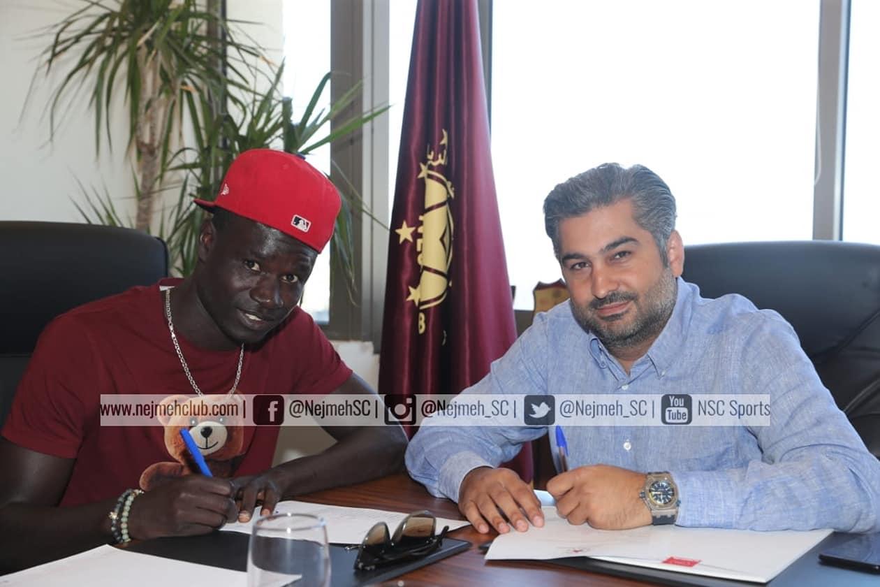 رسمياً- نادي النجمة يتعاقد مع السنغالي نيانغ