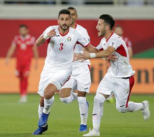 كأس آسيا: الأردن في دوري الـ16 بعد الفوز على سوريا