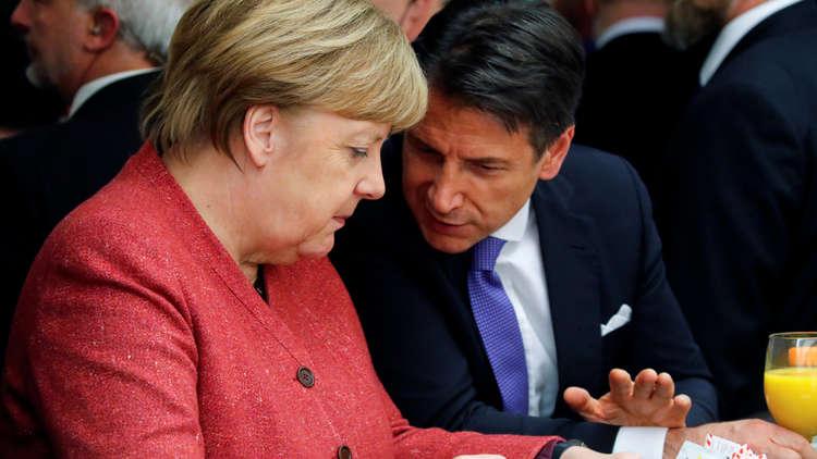 ألمانيا تدخل في المشاحنات بين فرنسا وإيطاليا