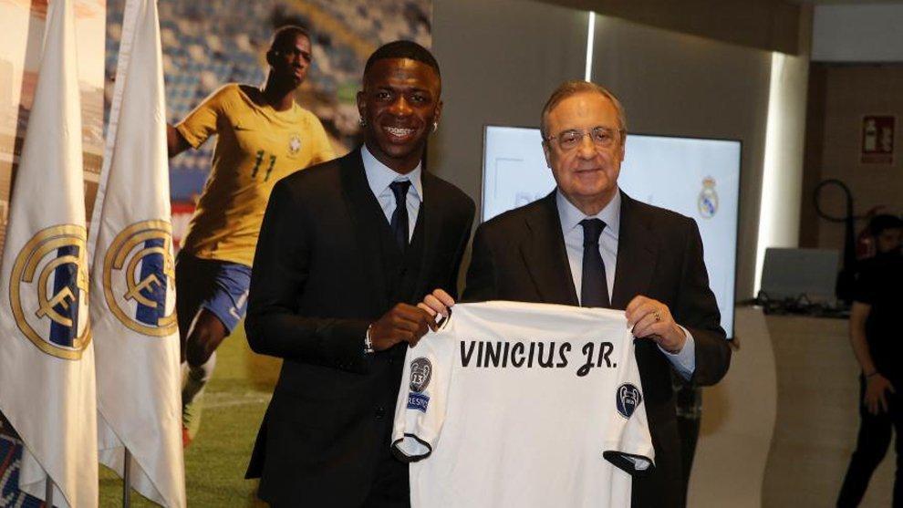 فينيسيوس: لقد اخترت النادي الأكبر في أوروبا