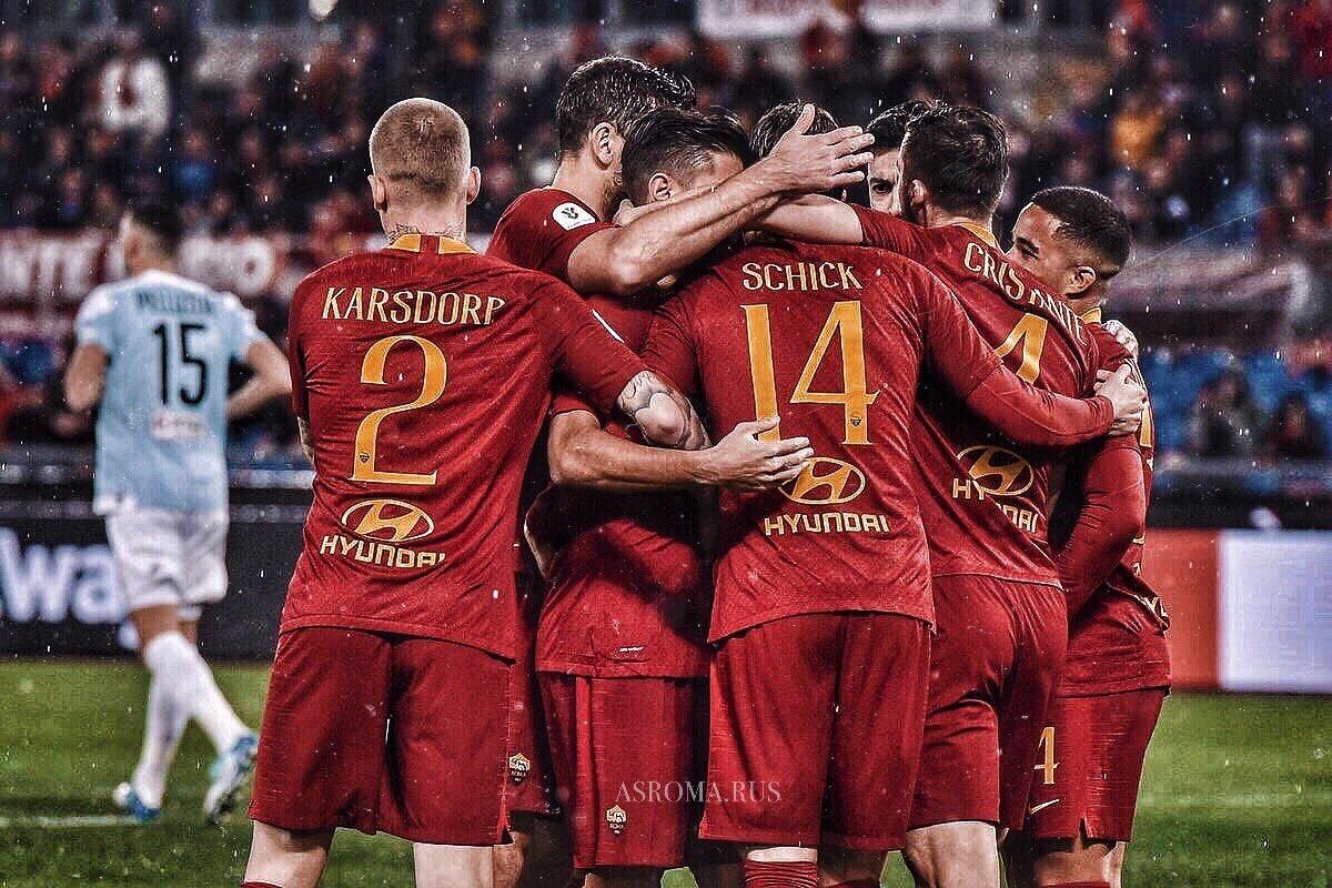 روما يتأهل للدور المقبل من كأس إيطاليا بعد الفوز على فيرتوس انتيلا