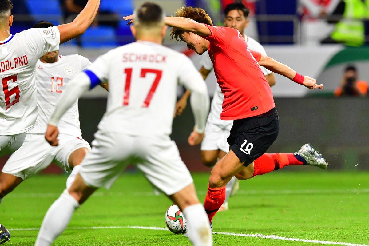 كأس آسيا: كوريا الجنوبية يتغلب على الفيليبين