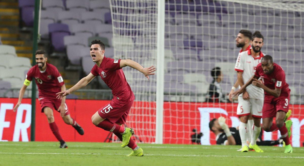كأس آسيا: لبنان يسقط أمام قطر ضمن منافسات المجموعة الخامسة