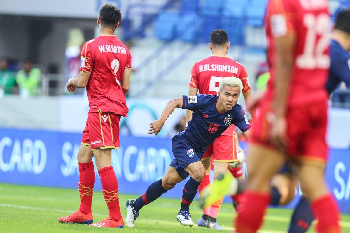 كأس آسيا: المنتخب البحريني يسقط أمام المنتخب التايلاندي
