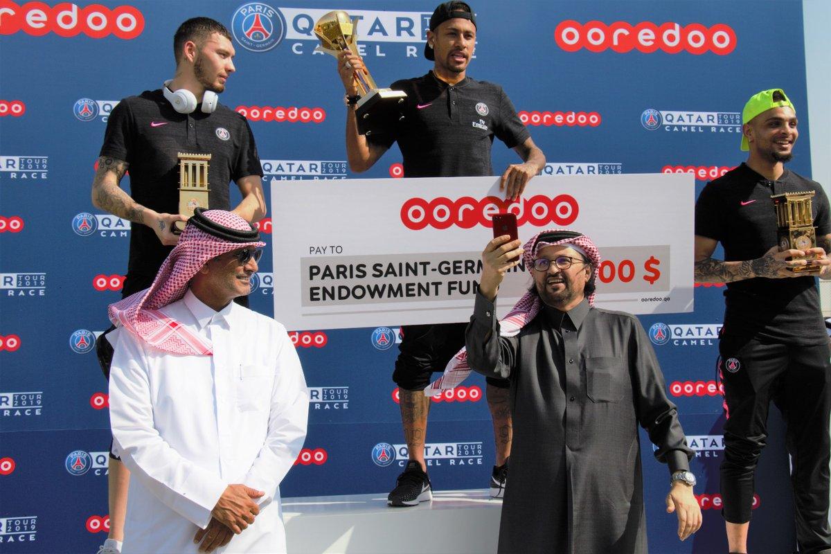 نيمار يحقق جائزة مالية في الدوحة