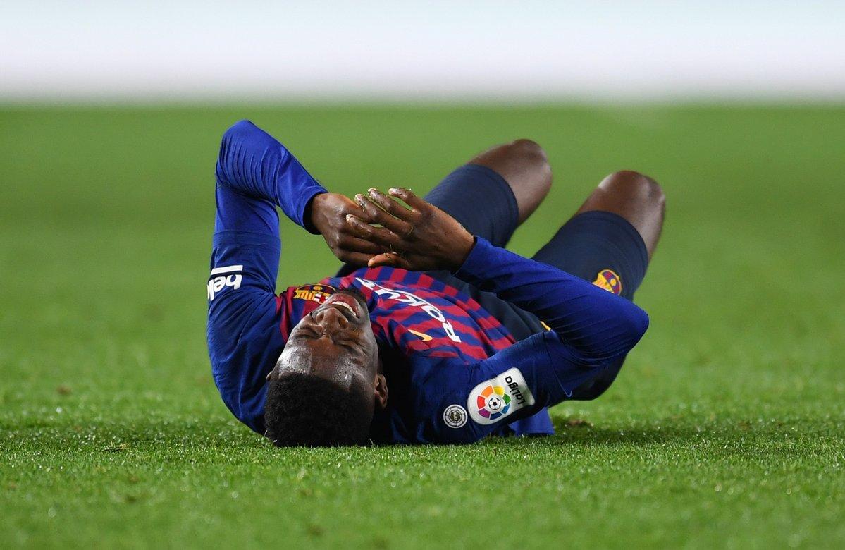 برشلونة يعلن عن إصابة بطل كأس العالم