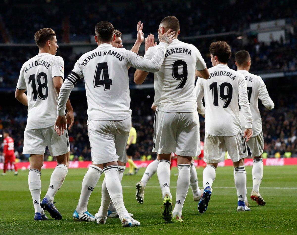 ريال مدريد يتفوق على جيرونا برباعية في ذهاب ربع نهائي كأس الملك