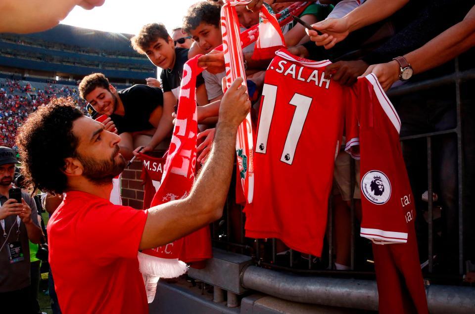 صلاح يرفض عرضاً من ريال مدريد