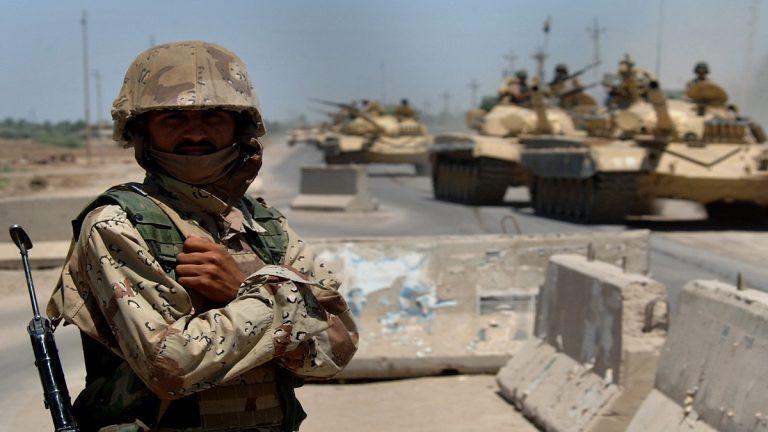 الجيش العراقي رفع حالة التأهب على الشريط الحدودي مع سوريا