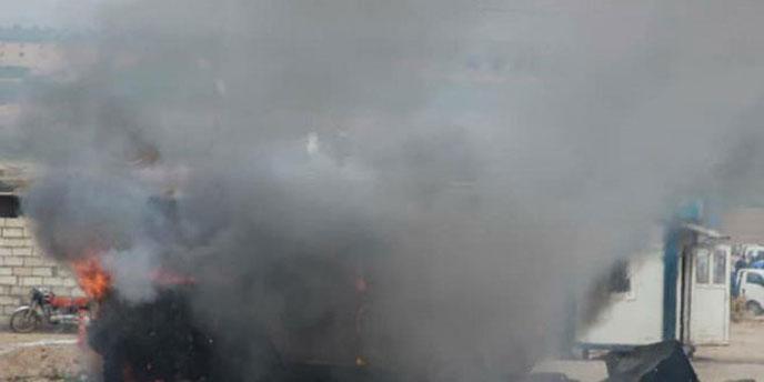 قتيل وجرحى بتفجير سيارة في اللاذقية