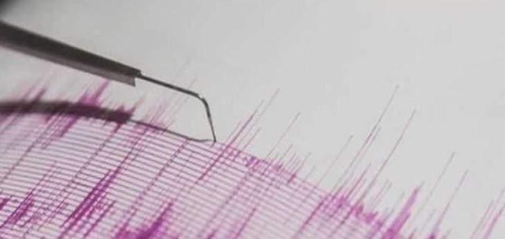 زلزال بقوّة 6.7 درجات  وقع بالمحيط الهندي قرب جزر الأمير إدوارد التابعة لجنوب أفريقيا