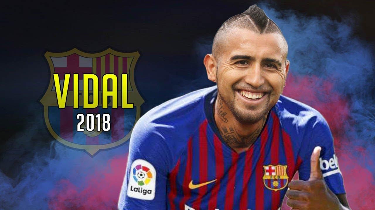 فيدال: أتمنى أن أتوج بكل شيء مع برشلونة