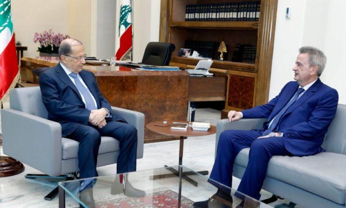 الرئيس عون أكد متابعته الحثيثة لأزمة قروض الاسكان مع المصرف المركزي