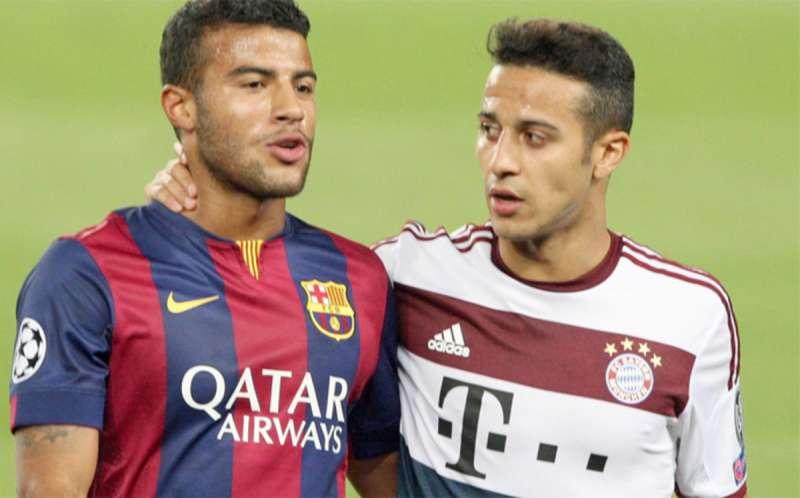 رافيينا عن شقيقه: أود أن أراه مرة أخرى في برشلونة