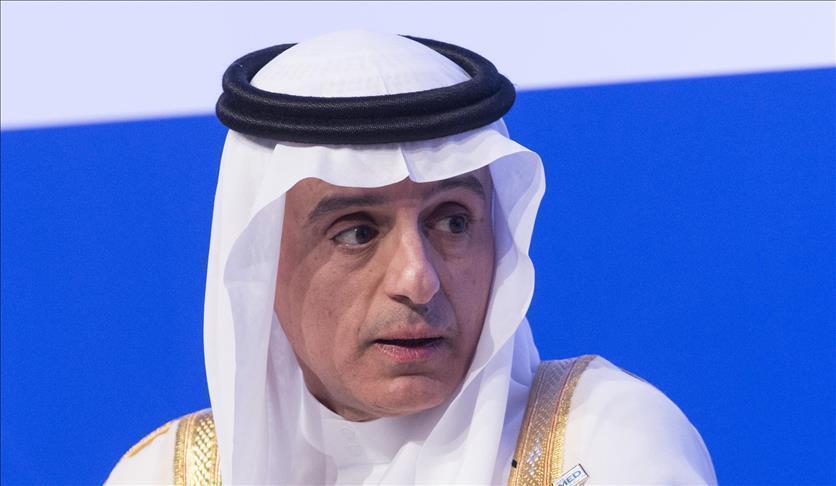 الجبير ووزير الخارجية البحريني تباحثا بأهمية التصدّي للسياسات الإيرانية