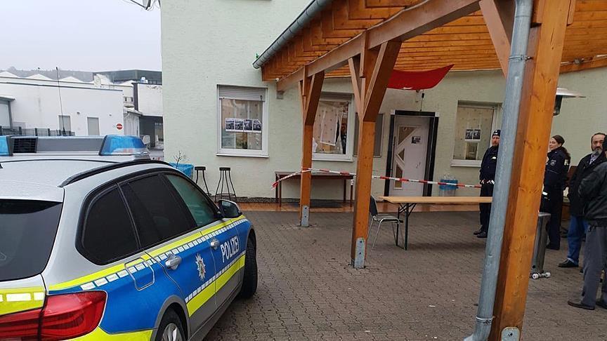الإعتداء على مسجد غربي ألمانيا